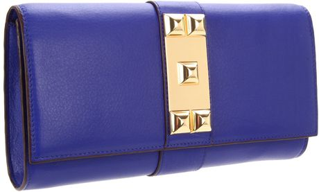 Vince Camuto Louise Clutch in Blue (cobalt) - Lyst