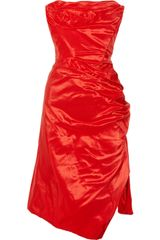 Vivienne Westwood Gold Label Corseted Silk-taffeta Dress - Lyst