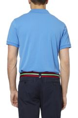 Polo Ralph Lauren Striped Grosgrain Belt in Red for Men - Lyst