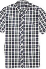 Raf Simons Plaid Short-sleeved Shirt - Lyst