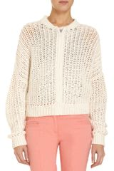 3.1 Phillip Lim Bomber Knit Sweater - Lyst