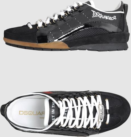 Dsquared2 Sneakers in Black for Men - Lyst
