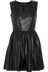 Thakoon Leather Dress - Lyst