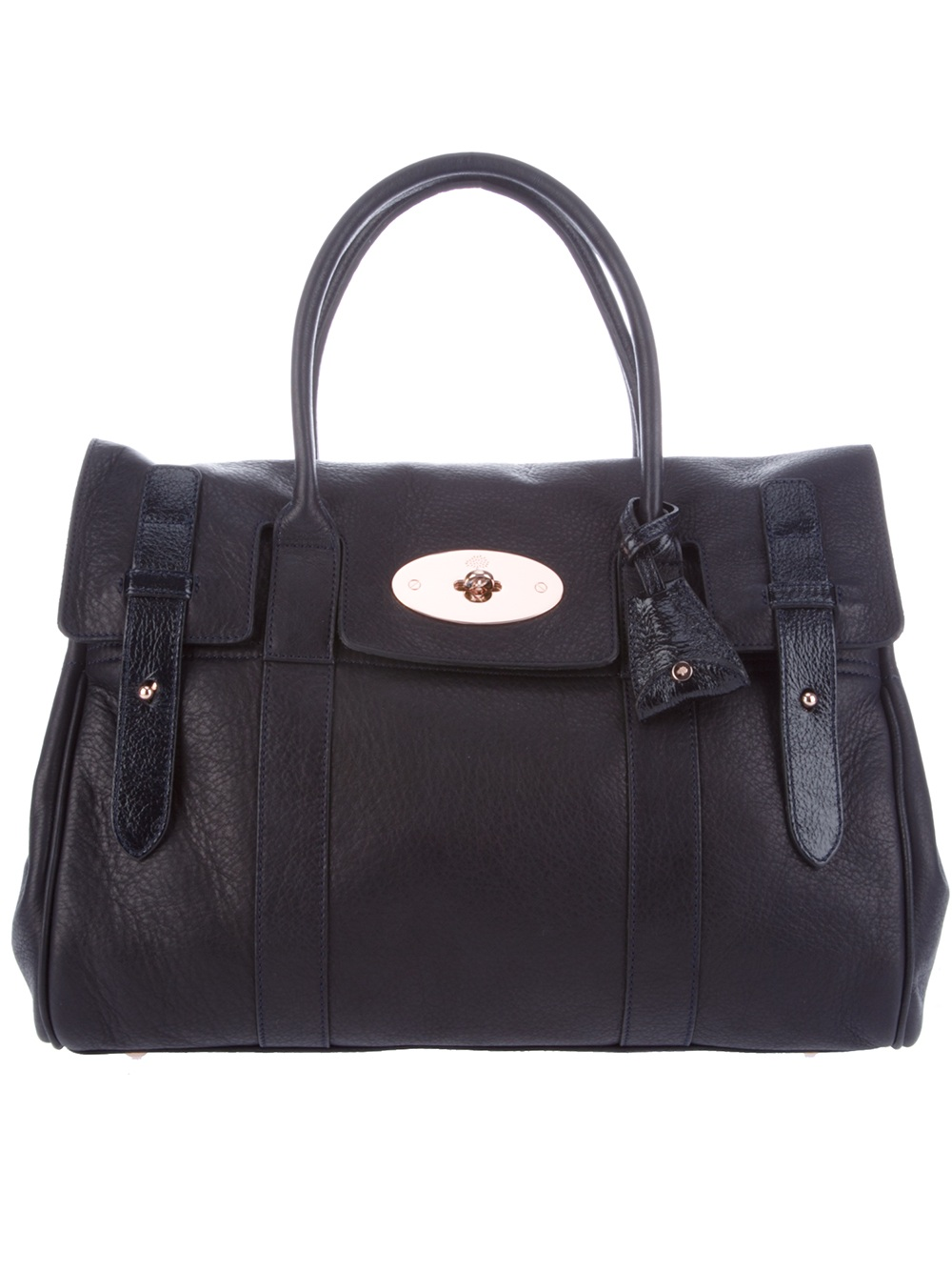 Mulberry Heritage Bayswater Shoulder Bag. in Blue (navy)