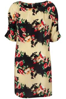 Topshop Oriental T-shirt Dress - Lyst