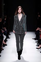 Balmain Fall 2012 Embroidered Suit Blazer in Black - Lyst