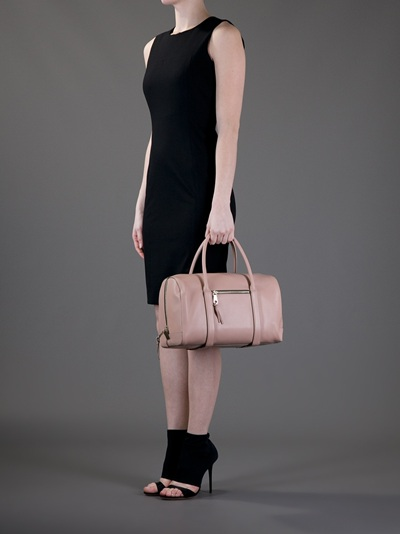 Chlo¨¦ Madeleine Duffel Bag in Pink (black) | Lyst