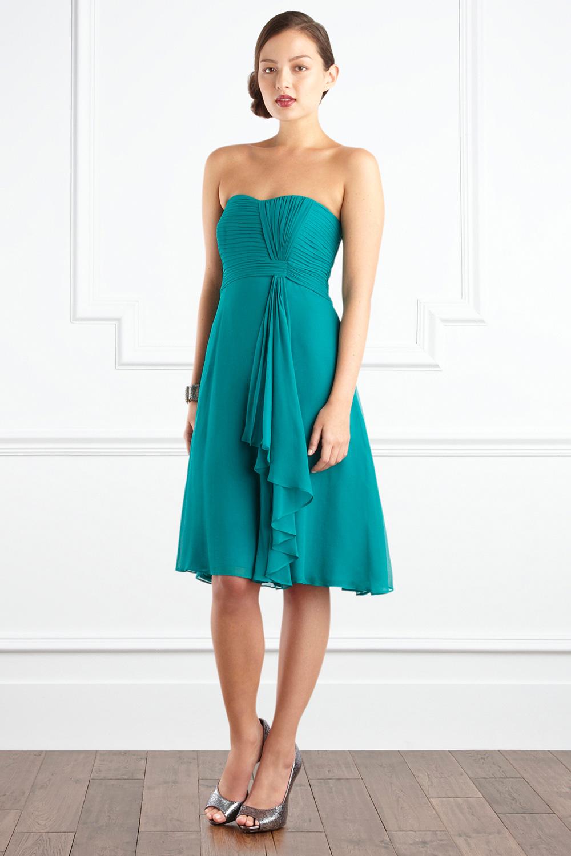 Lyst - Coast Symphony Short Dress in Green