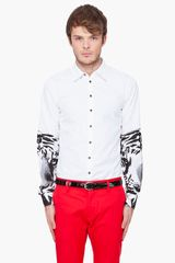 DSquared2 Tiger Sleeves Carpenter Shirt - Lyst
