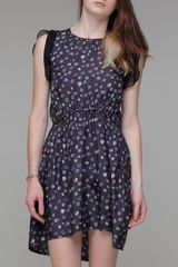 Girl. By Band Of Outsiders Printed Baby Doll Dress - Lyst