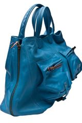 Jérôme Dreyfuss Max Veau Ciel Bag in Blue (sky) - Lyst