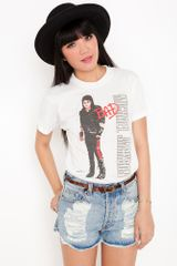 Nasty Gal Michael Jackson Bad Tee - Lyst