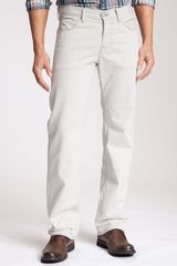 7 For All Mankind Austyn Twill Pants - Lyst