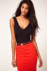 ASOS Collection Asos Body with Wrap Detail - Lyst