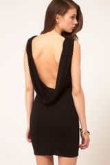ASOS Collection Asos Sexy Cowl Back Dress - Lyst