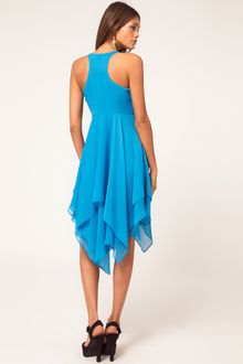 ASOS Collection Asos Dress with Racer Back - Lyst