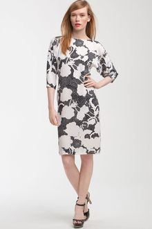 Diane Von Furstenberg Maja Two Printed Silk Dress - Lyst