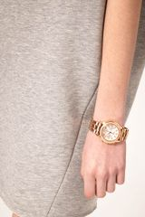 Dkny Dkny Steel Watch in Gold - Lyst