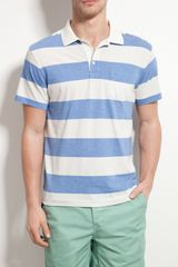 Gant By Michael Bastian  Bar Stripe Polo Shirt - Lyst