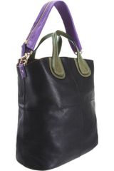 Givenchy Tricolor Zanzi Nightingale Tote - Lyst