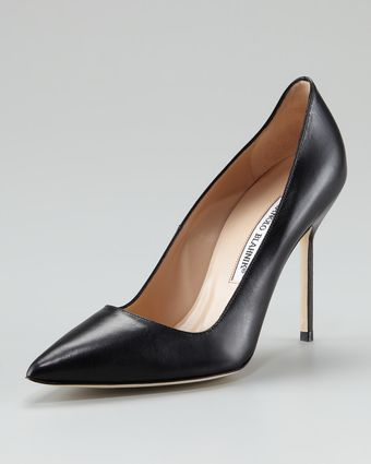 Manolo Blahnik Bb Pointed Toe Pump - Lyst