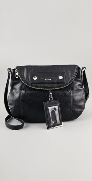 Marc By Marc Jacobs Preppy Leather Natasha Bag in Black - Lyst
