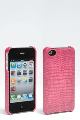 Marc By Marc Jacobs Croc Embossed Iphone Case