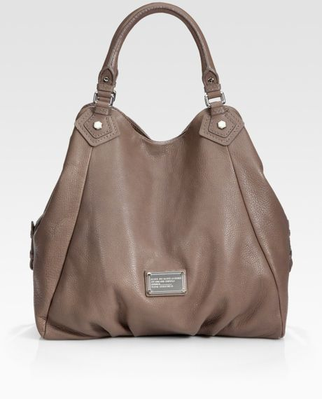 Marc By Marc Jacobs Classic Q Francesca Tote Bag in Brown (hazelnut) - Lyst