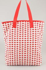 Marc By Marc Jacobs Packables Lighthearted Shopper in Red (multi) - Lyst