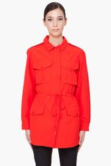 Marc By Marc Jacobs Red Brice Jacket in Red - Lyst