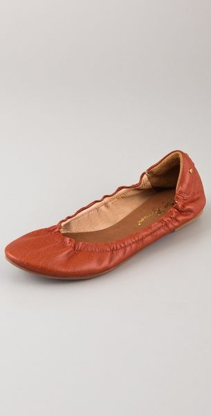 Matt Bernson Waverly Ballet Flats in Red - Lyst