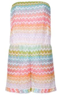 Missoni Strapless Playsuit - Lyst