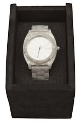 Nixon Time Teller Watch in Beige (pearl) - Lyst