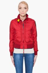 Parajumpers Red Newport Jacket - Lyst
