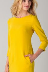 Rag & Bone Harlow Dress in Yellow (lemon) - Lyst