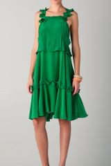See By Chloé Sleeveless Dress - Lyst