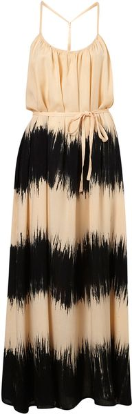 Topshop Tie Dye T Back Maxi Cover Up - Lyst