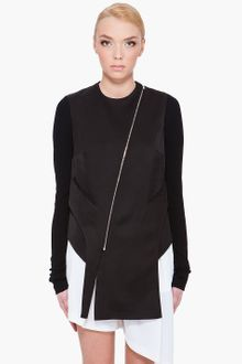 Wayne Zippered Asym Jacket - Lyst
