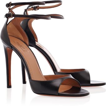 Alaïa Double Ankle Strap High Heels - Lyst