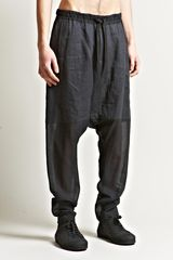 Damir Doma Mens Paros Drop Crotch Trousers - Lyst