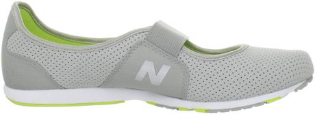 New Balance Womens Wl101 Slip On Fasion Sneaker in Gray (grey/coral) - Lyst