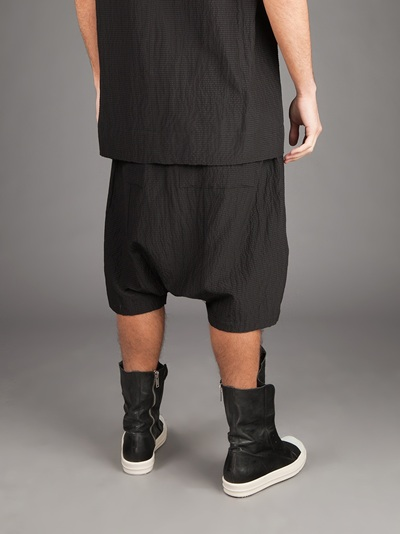 Long shorts with drop crotch Rick Owens CGFC8l