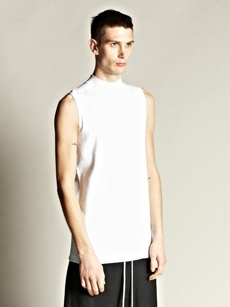 Plain White Jumper Mens 27