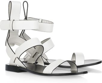 Alexander Wang Annette Leather Sandals - Lyst