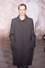 Maison Martin Margiela Fall 2012 Single Button Coat  in Gray - Lyst