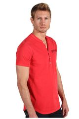 Dsquared2 Sexy Slim Fit White Fade Pigment Dyed Soft Print Shirt in Red for Men (r) - Lyst