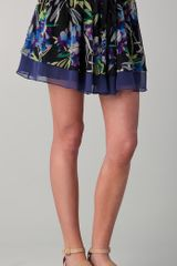 Elizabeth And James Floral Drew Skirt - Lyst