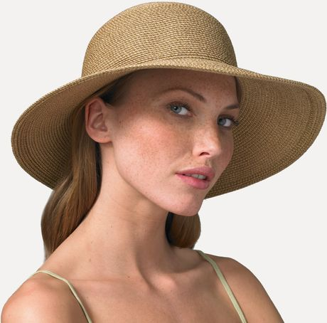 Eric Javits Floppy Hat in Beige (natural) - Lyst