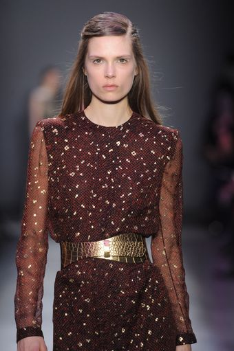 Giambattista Valli Fall 2012 Crocodile Print Wrap Belt  - Lyst