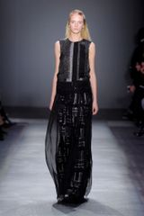Giambattista Valli Fall 2012 Sequin Embellished Sheer Layer Gown